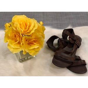 Franco Sarto Leather Sandals (9 1/2)